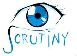 Image result for scrutiny