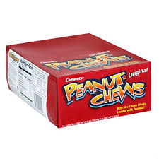 Peanut <b>Chews Original Candy</b> 2 Ounce Bars Pack of 24 ...
