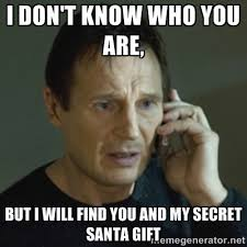 Secret Santa Memes | The Grasshopper via Relatably.com