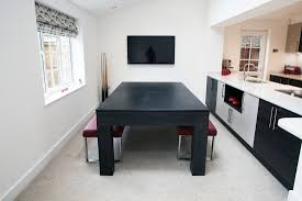 pool table dining tables: custom pool table contemporary square leg pool diner