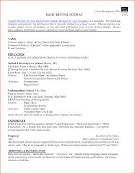 class law rank resume