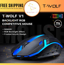 Best <b>T</b>-<b>WOLF</b> Tetikus <b>Gaming</b>