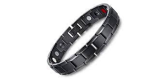 Medical energy <b>bracelet</b> with <b>germanium</b> stone and <b>magnet</b> to get ...