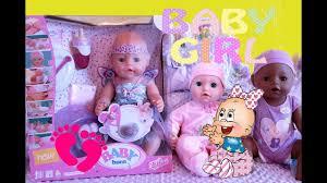 Распаковка <b>куклы</b> Беби Бон <b>Фея с аксессуарами</b> BABY Born Fairy ...