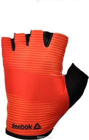 Купить <b>Перчатки</b> для фитнеса Reebok, цвет: красный, черный ...