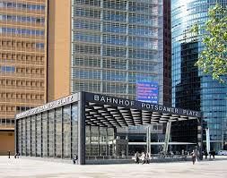 Gare de Berlin Potsdamer Platz