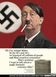 Anti smoking ad from the 60s - MemePix via Relatably.com