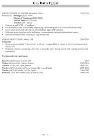 chronological resume sample program director chronological csusan gallery of chronological order resume template