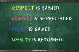 Respect And Honesty Quotes. QuotesGram