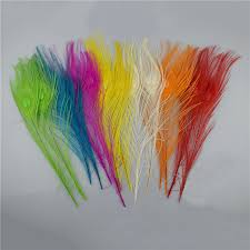 <b>Top Quality Peacock Feather</b>,20pcs/Lot Good Quality Full Eye Dyed ...