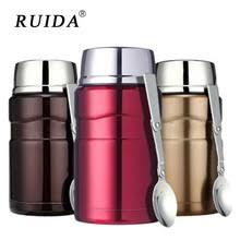 RUIDA 550 мл 700 мл <b>Термос</b> для пищевых контейнеров с ...