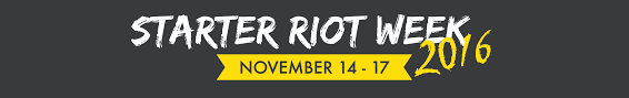 starter riot week center for entrepreneurial leadership explore exciting career options meet founders of inspiring student startups and learn about entrepreneurial resources by joining the ucf center for