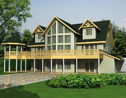 New House Plan HDC    is an Easy to Build  Affordable Bed    front house plan elevation