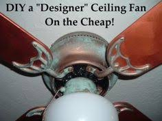 diy how to paint a ceiling fan this is an inexpensive way to update ceiling fans ugly