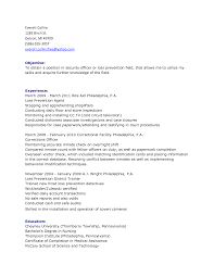 cv sample for security guard sample driver cv best resume template    security