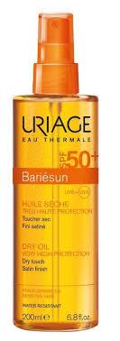 <b>Uriage</b> (Урьяж) <b>барьесан сухое масло спрей</b> 200мл spf50+ 2564 ...