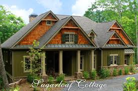 Rustic Mountain Style Cottage House Plan   Sugarloaf Cottage    Floor Plan Data