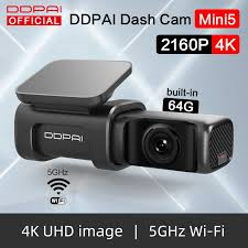 <b>DDPai</b> Dash Cam <b>Mini5 4K 2160P</b> UHD DVR Car Camera Android ...