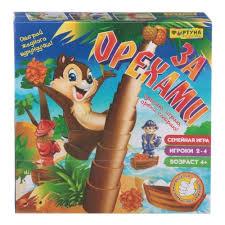 <b>Настольная семейная игра ФОРТУНА</b> За орехами — купить в ...