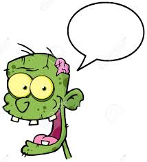 Image result for zombie teeth cartoon