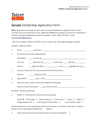 scholarship application form template   besttemplate  scholarship application form template