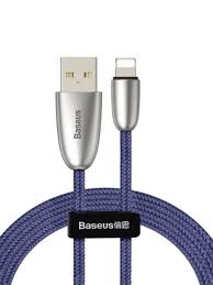 Кабель <b>Torch Series</b> Data Cable USB for iPhone 2.4A 1m <b>BASEUS</b> ...