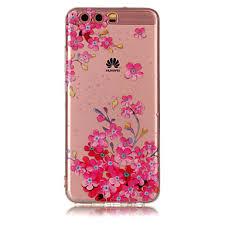 For Huawei P8 Lite (2017) P10 Lite <b>TPU Material</b> IMD Process Plum ...