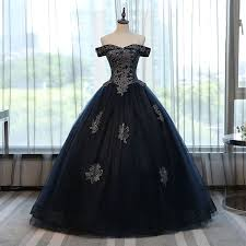 Elegant Long <b>Navy Blue</b> Prom Dresses, <b>Quinceanera</b> Dresses Ball ...