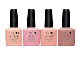 | Gel pedicure, <b>Cnd shellac</b>, Shellac