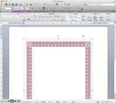 adding a border to a page drag and drop it into your word file