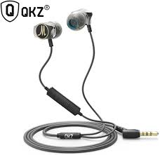 <b>QKZ DM7</b> Metal <b>Zinc</b> Alloy Hifi Super Bass Earphones with Mic ...