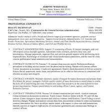 view sample federal resume sample
