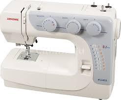 Купить <b>Швейная машина JANOME</b> EL545S белый в интернет ...