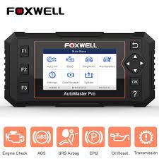 <b>Foxwell NT614 Elite OBD2</b> Car Dianostics Engine ABS Airbag AT ...