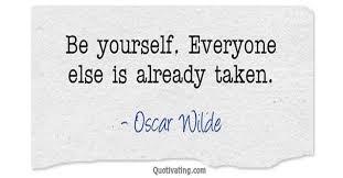Oscar Wilde Quote | Quotivating.com via Relatably.com