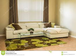 space living room olive: cozy living room in olive green colors stock photo image