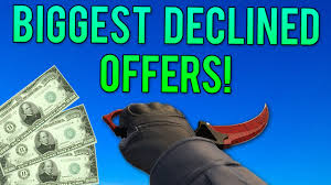 most expensive declined offers on cs go skins most expensive declined offers on cs go skins