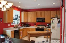 paint ideas oak cabinets colors