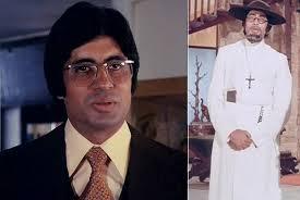 Amitabh Bachchan in Chupke Chupke (1975) and Amar Akbar Anthony (1977) Movie Stills - Amitabh-Bachchan-chupke-chupke-and-Amar-Akbar-Anthony
