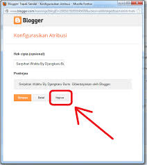 cara menghilangkan atribusi di blogspot