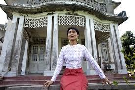 「アウン・サン・スー・チー の豪邸」の画像検索結果