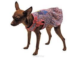 """<b>Сарафан для собак</b> Каскад """"Восточный огурец. Love"""", цвет ..."""