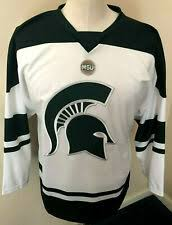 NCAA Ice Hockey Michigan State Spartans Jerseys for sale   eBay