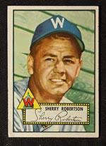 1952 Topps Baseball Cards245Sherry Robertson Washington Senators. 1952 Topps #245 Sherry Robertson Washington Senators - Front ... - 1952_topps_245_sherry_robertson_fr