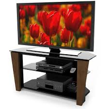 Sonax ML-2489 Milan 48-Inch <b>TV Stand</b> with <b>Solid</b> Wood Face ...