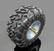 130MM smart car <b>wheel robot</b> DIY <b>rubber tire</b> model toy parts ...