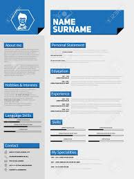personal objective examplesthe best cv u resume templates  mini st cv resume template simple design royalty resume template