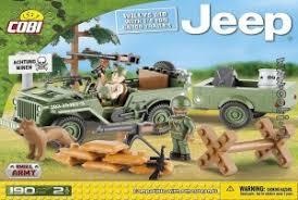 "<b>Пластиковый конструктор COBI</b> ""Jeep Willys MB with 1-4 Ton ..."