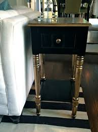 thinking of your metalcopper box i know this is a table not at all the same shape but the concept of painting the box black and leaving the lid black painted bedroom furniture