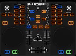 <b>Behringer CMD</b> STUDIO 2А <b>DJ</b> Controller - портативный 2 ...